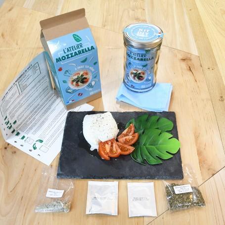 Boîte 1L DIY Fromage Mozzarella Bio Radis et Capucine RAD-37249