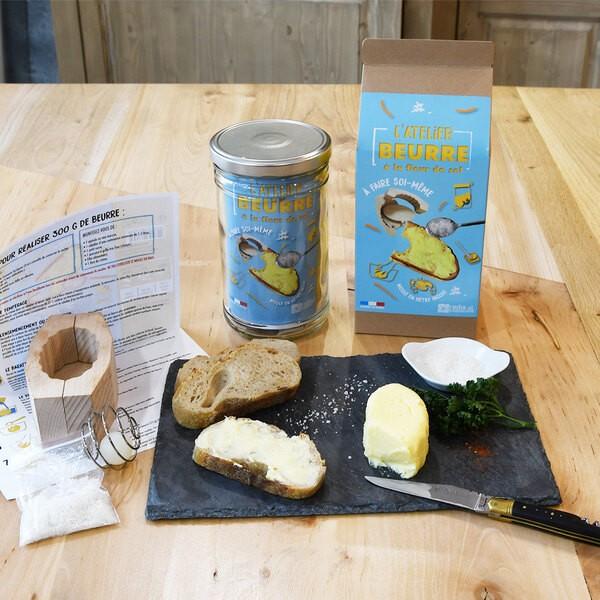 Boîte Bocal 1L DIY Beurre moule Hètre Bio Radis et Capucine RAD-37251