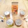 Lot 2 bocaux 0.5L DIY Sauces Ketchup et Moutarde Bio Radis et Capucine RAD-37361