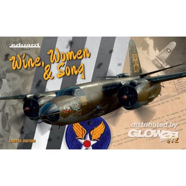 B-26 WINE, WOMEN & SONG, Edition Limitée au 1:72ème Eduard 3902129