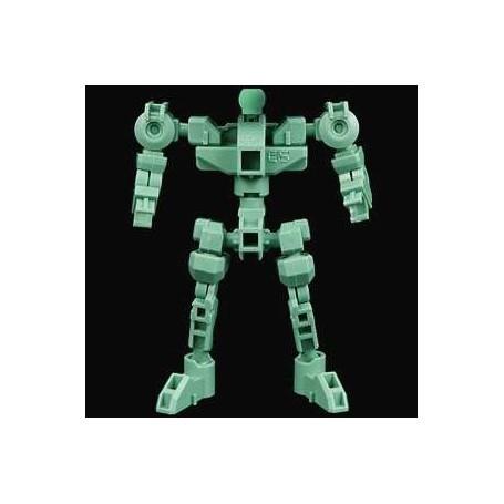 Gundam: SD Gundam Cross Silhouette Cross Silhouette Frame Green Model Kit