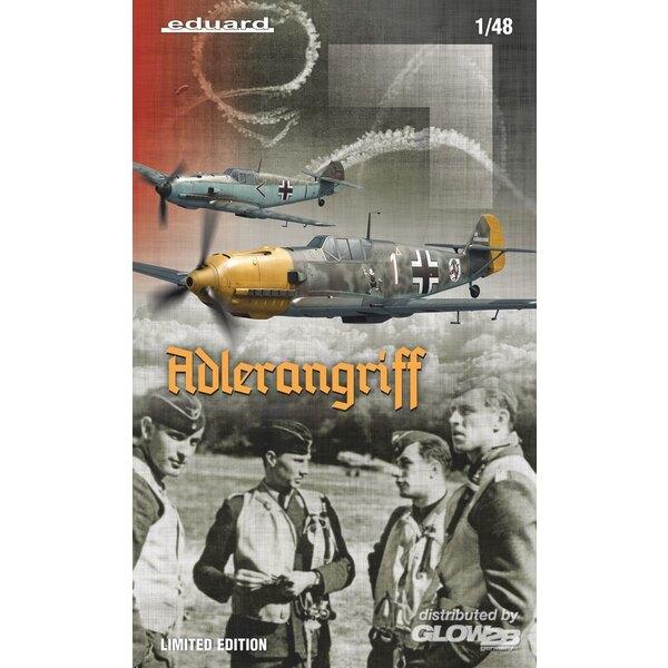 ADLERANGRIFF Messerschmitt Bf 109E,(Dual Combo) Edition limitée à 1:48 Eduard 3911144