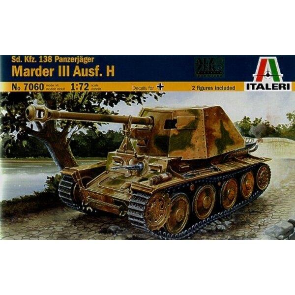 Sd.Kfz.138 Panzerjager Marder III Ausf.H