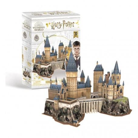 Harry Potter puzzle 3D Château de Poudlard (197 pièces) CUBIC FUN CUFU00302