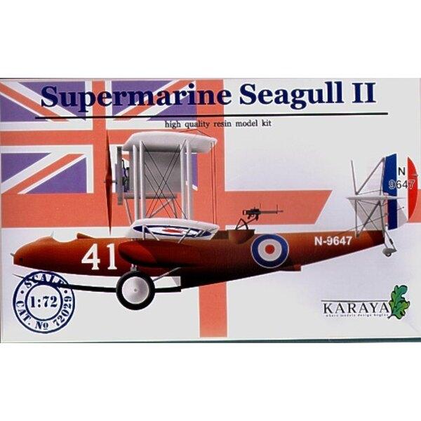 Supermarine Seagull II avec décalques et pièces photodécoupées