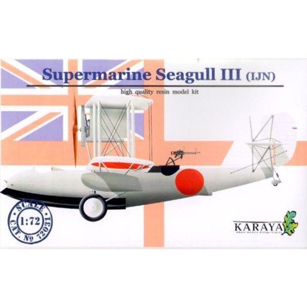 Supermarine Seagull II Marine japonaise avec décalques et photodécoupe