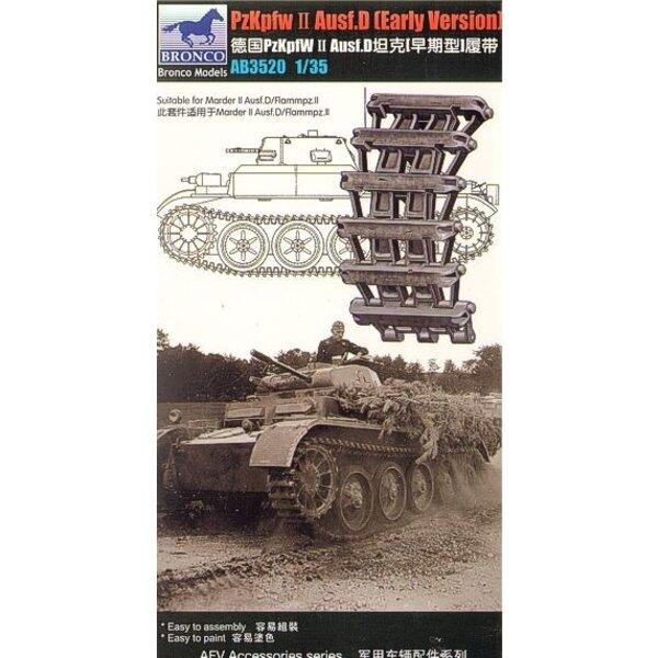 Maillons de chenille de Pz. Kpfw. II Ausf. D (Première version)