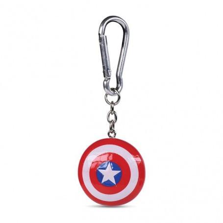 Captain America assortiment porte-clés 3D Shield 4 cm (10) Pyramid International RKR39125