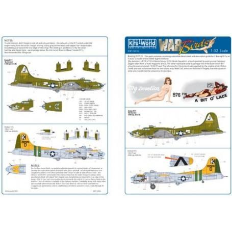 Boeing B-17F/Boeing B-17G ′My Devotion′ - ′A Bit O Lace′