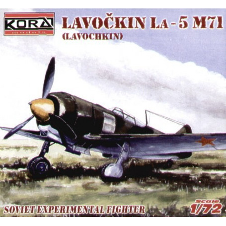 Lavochkin La-5 M71 (injection kit with resin new engine)