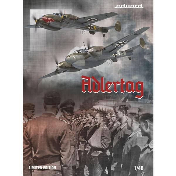 MESSERSCHMITT Bf110 C/D ADLERTAG, édition limitée 1/48