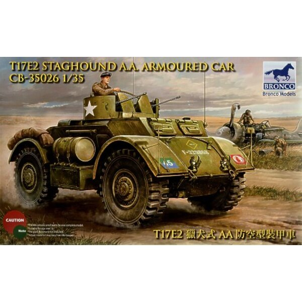 Staghound Automitrailleuse AA