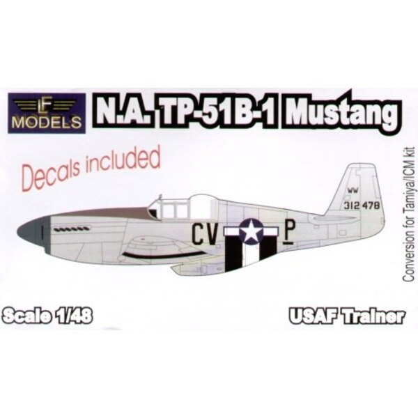 N.A.TNorth American P-51B-1 Mustang Conversion (pour maquettes Tamiya)