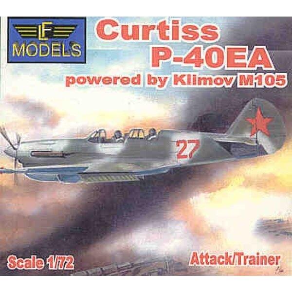 Curtiss P-40EA avion d'entraînement biplace ou d'attaque avec moteur Klimov M105
