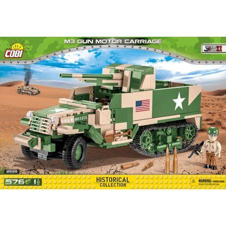 HC WWII /2535/ M3 GUN MOTOR CARRIAGE GMC
