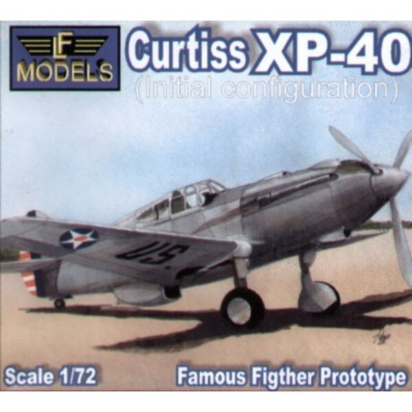 Curtiss XP-40 configuration initiale