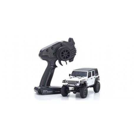 Mini-Z 4X4 MX-01 Jeep Wrangler Rubicon Bright White (KT531P)