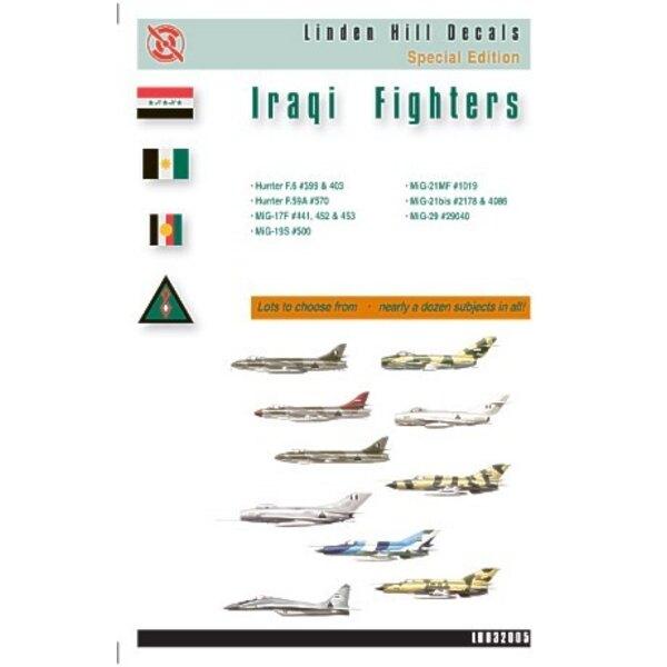 Décal Iraqi Fighters (11) Hunter F.6 (2) Hunter F.59A Mikoyan MiG-17F (3) Mikoyan MiG-19S Mikoyan MiG-21MF Mikoyan MiG-21bis Mi