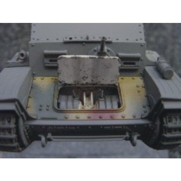 différentiel pour Marder III (pour maquettes Tamiya)