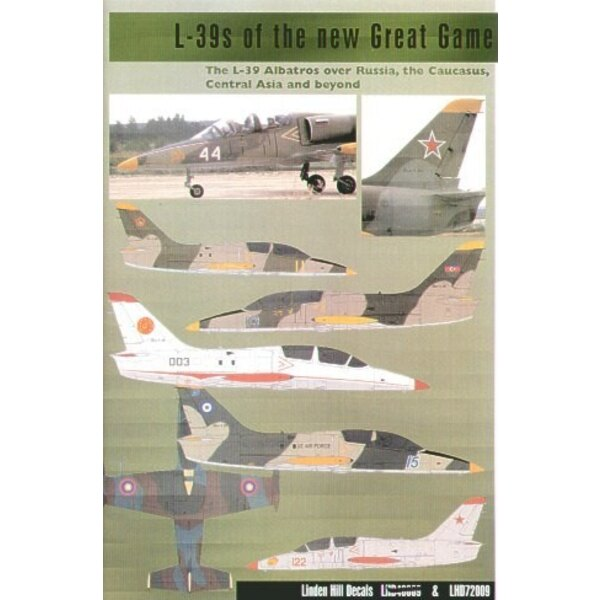 Aero L-39s of the New Great Game- The Aero L-39 Albatros over Russia the Caucasus Central Asia and Beyond (14) White 44 White 59