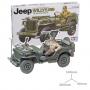 Jeep Willys MB avec conducteur & décalques pour 5 versions