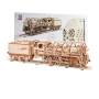 460 locomotive à la vapeur avec un wagon de charbon