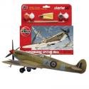 Supermarine Spitfire Mk.1a - Kit pour débutant avec peintures acrylique colle incluses