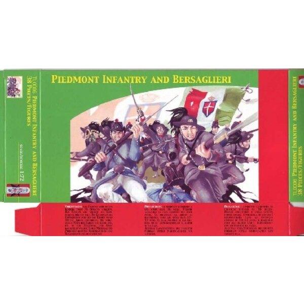L'Infanterie du Piémont et Bersaglieri