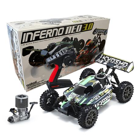 Kyosho Inferno Neo 3.0 1/8 RC Nitro Readyset (KE21SP) Type4 - Vert