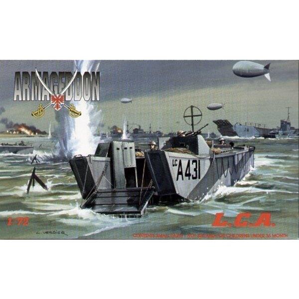 L.C.A. péniche de débarquement britannique