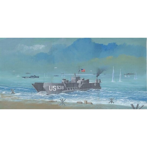 LCT6 WWII landing craft. Can carry 5 light tanks or 7 trucks. Used in Italy France Pacific Korea and Vietnam etc (Because of thi