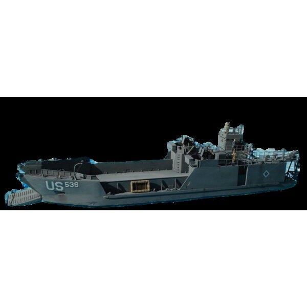 LCT6 Péniche de débarquement de la 2ème GM.