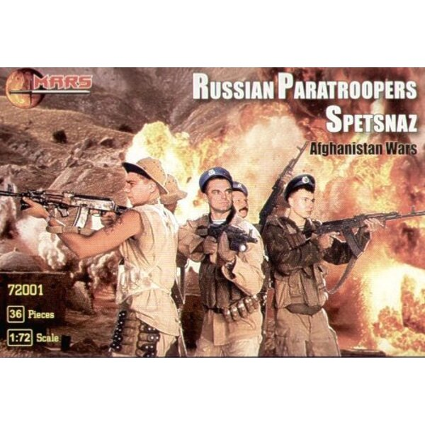 Russian Spetsnaz Paratroopers Afghanistan