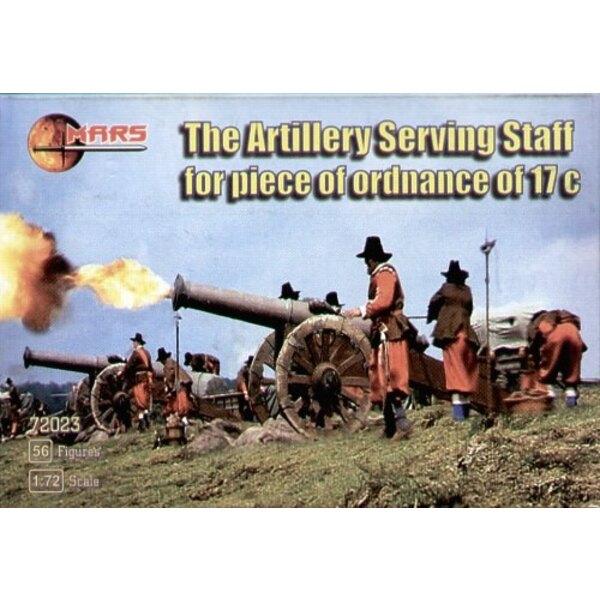17 century artillery gun crew