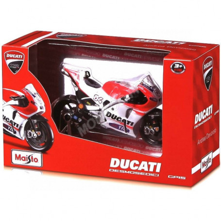 "DUCATI DESMOSEDICI : MOTOS ""GRAND PRIX RACING"" X1 Maisto MAISTO34057"