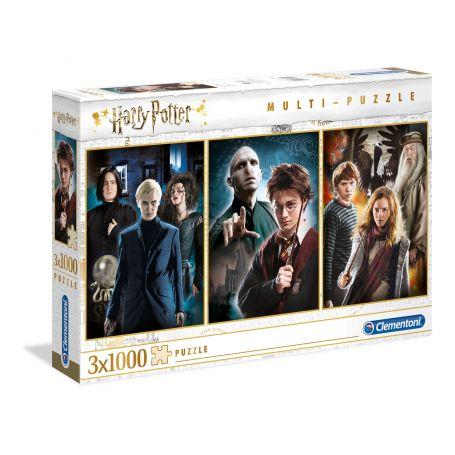 Puzzle Harry Potter - 3x1000 pièces