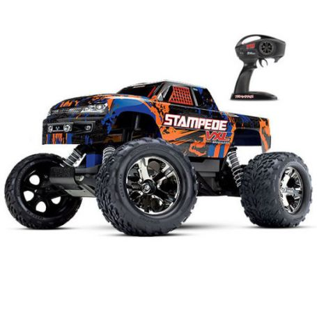 STAMPEDE 4X2 BRUSHLESS TRAXXAS 36076-4-ORNG