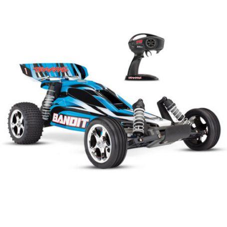 BANDIT 4X2 BRUSHED TRAXXAS 24054-4-BLUE