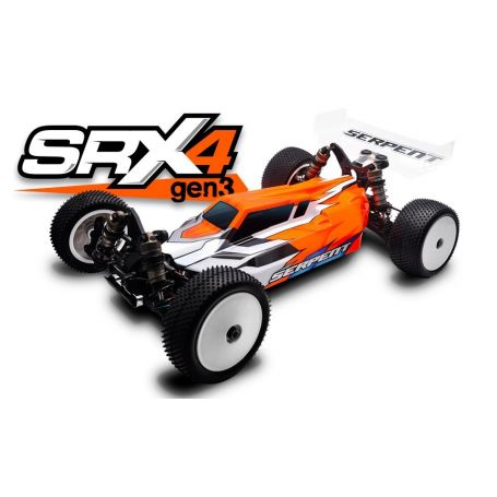 SERPENT SRX4 GEN3 4WD 1/10 EP Kyosho SER500015