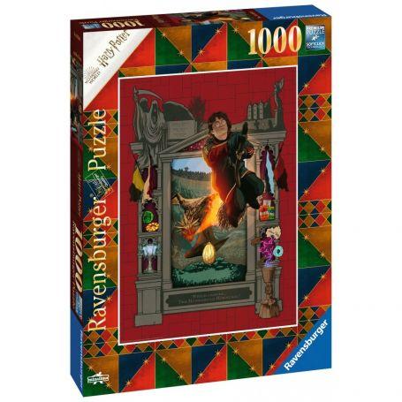 Puzzle 1000 p - Harry Potter et la Coupe de Feu (Collection Harry Potter MinaLima)