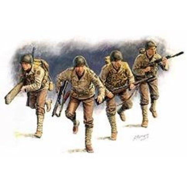Gardes forestiers américains Normandie 44