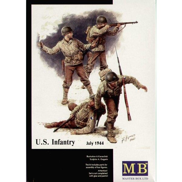 Infanterie américaine 1944