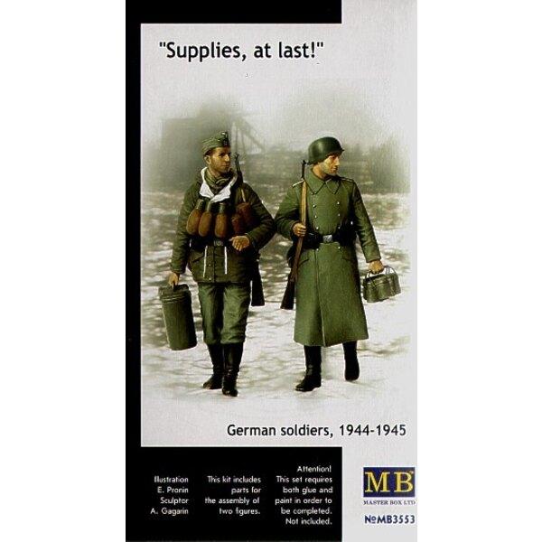 Des réserves enfin! Soldats allemands 1944-45