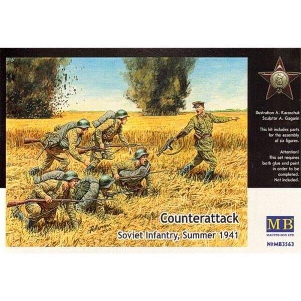 ′Counter Attack′ Soviet Infantry Summer 1941