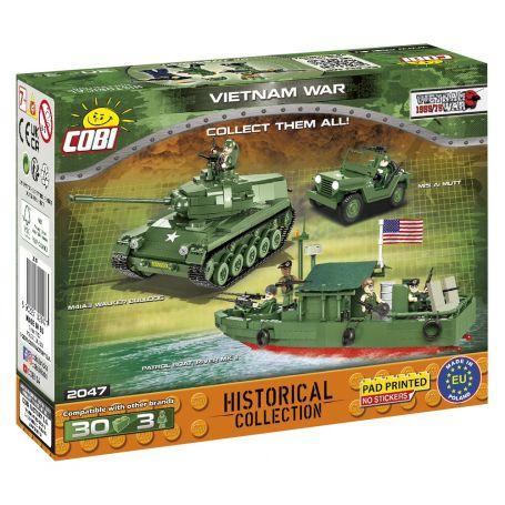 30 PCS HC WWII/2047/GUERRE DU VIETNAM Cobi COBI-2047