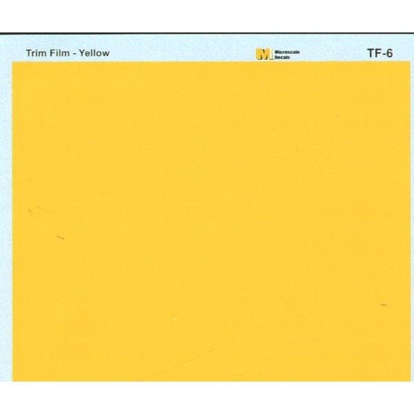 Film à découper jaune - le film peut être peint