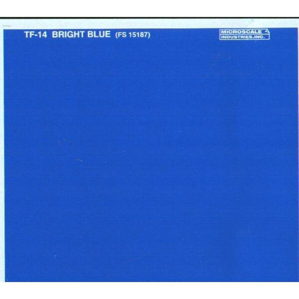 Film à découper bleu franc - le film peut être peint