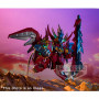 SD Gundam statuette PVC Red Lancer 9 cm Banpresto BANPBP17827P