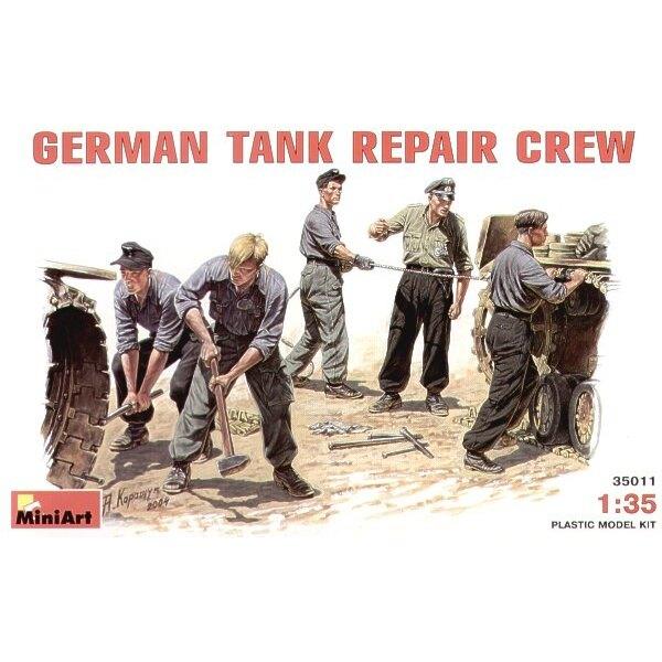 Équipage de Réparation de char allemand