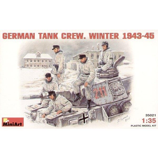 Équipage de char allemand Wimter 1943-1945